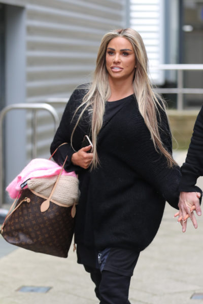 Katie price at Steph's packed lunch