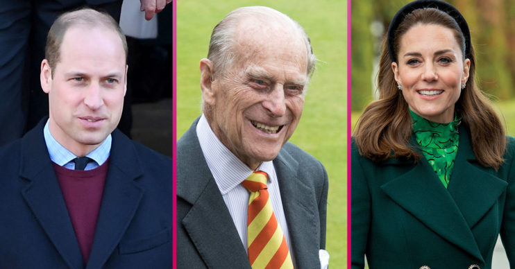 Prince William and Kate Middleton pay tribute to Philip on website