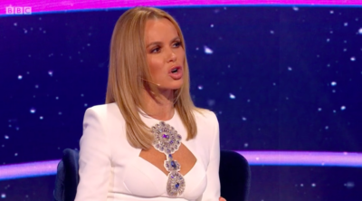 I can see your voice's amanda holden leaves fans worried