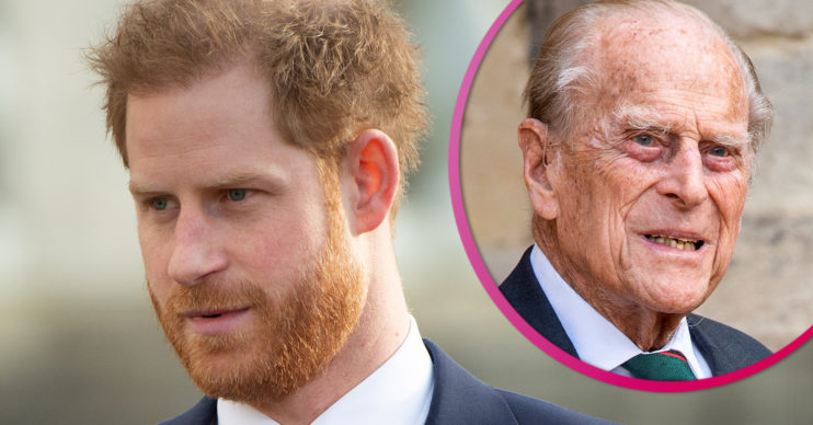 Prince Harry in UK for Philip's funeral