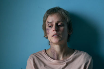 Denise Gough as Connie in Too Close on ITV