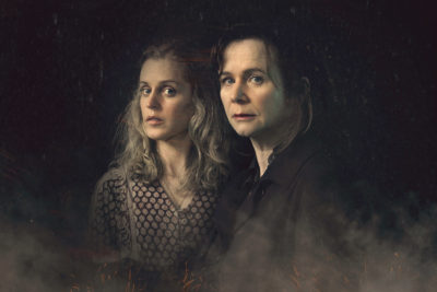 Emily Watson and Denise Gough in Too Close on ITV