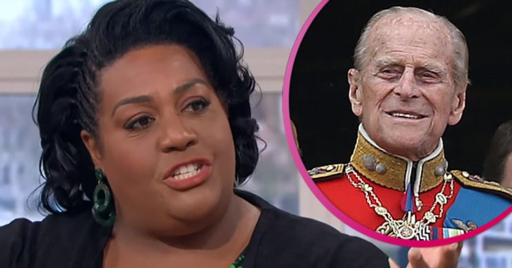Alison Hammond talks about Philip on This Morning