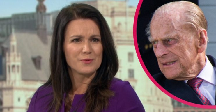 Susanna Reid and Prince Philip