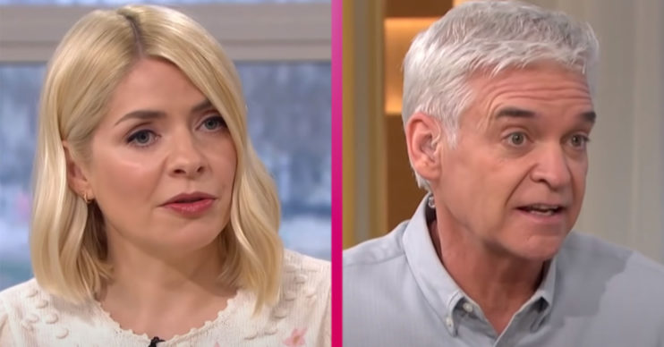 Holly Willoughby and Phillip Schofield replaced today on This Morning