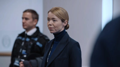 Patricia Carmichael (Anna Maxwell Martin) is back on Line Of Duty