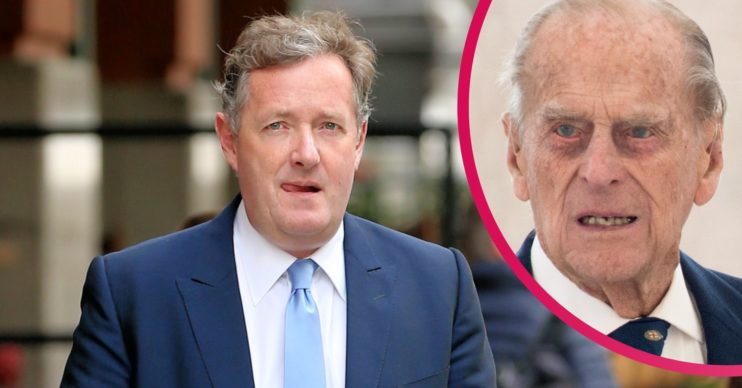 Piers Morgan and Prince Philip
