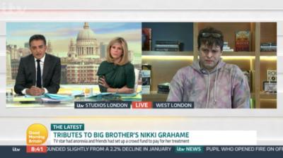 Pete Bennett became emotional talking about his Big Brother pal Nikki Grahame
