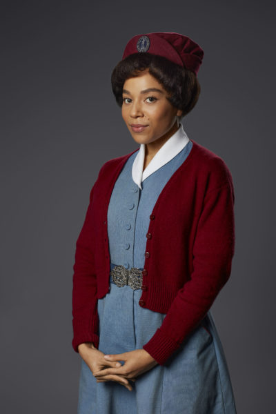 Leonie Elliott as Lucille in Call the Midwife (Credit: BBc One)