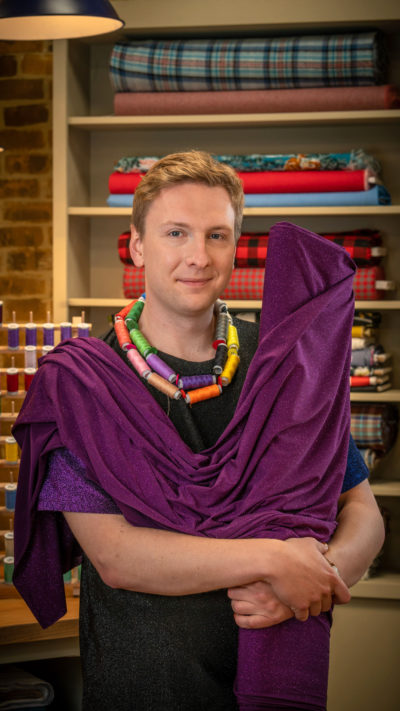 Joe Lycett hosts The Great British Sewing Bee