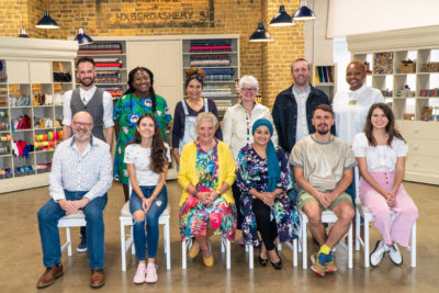 Great British Sewing Bee contestants