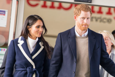 harry and meghan holding hands