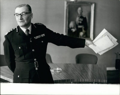 Sir Robert Mark set up A10 in 1971 (Credit: BBC Two)