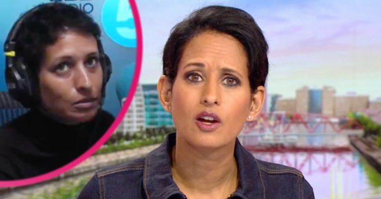 BBC Breakfast host Naga Munchetty