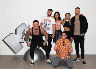 Ashley Cain attending MTV's The Challenge: War Of The Worlds photo call (Credit: Splash)