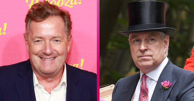 Piers Morgan and Prince Andrew news