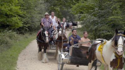 Here Come the Gypsies! is a new six-part series on Channel 5 (Credit: Channel 5)