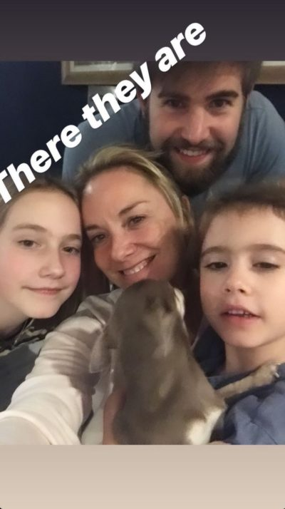 EE star Tamzin and her family