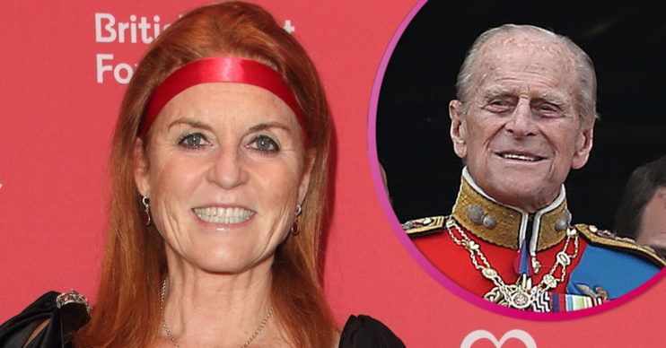 Sarah Ferguson won't attend Prince Philip funeral