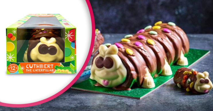 M&S Colin the caterpillar