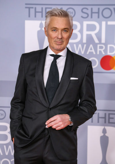 Martin kemp on the red carpet