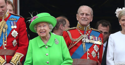 Prince Philip with his 'Lilibet' The Queen