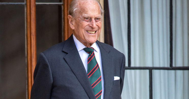 Prince Philip coffin
