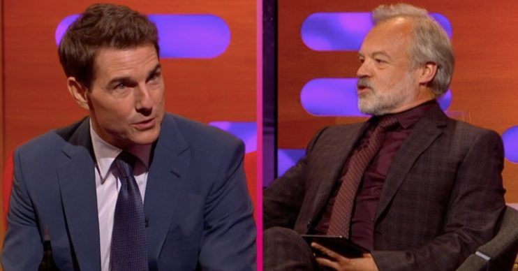fans of the graham norton show slam him for tom cruise appearance