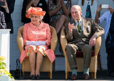 The Queen shared a previously unseen photograph of the royal couple on the day of Prince Philip's funeral