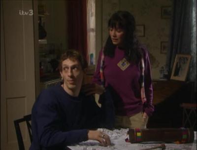 Zoe Henry in Coronation Street as Log Thwaite