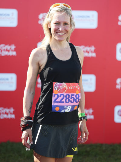 Sophie Raworth almost died durign the London Marathon