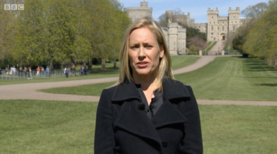Sophie Raworth Prince Philip funeral