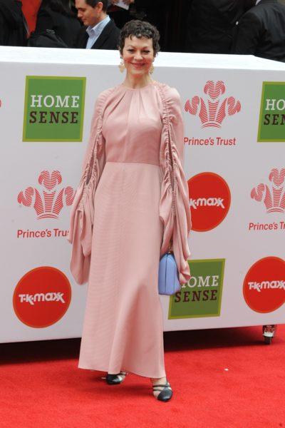 Helen McCrory on the red carpet