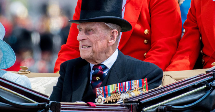 prince philip not King