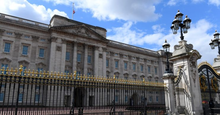 man charged with knife at buckingham palace