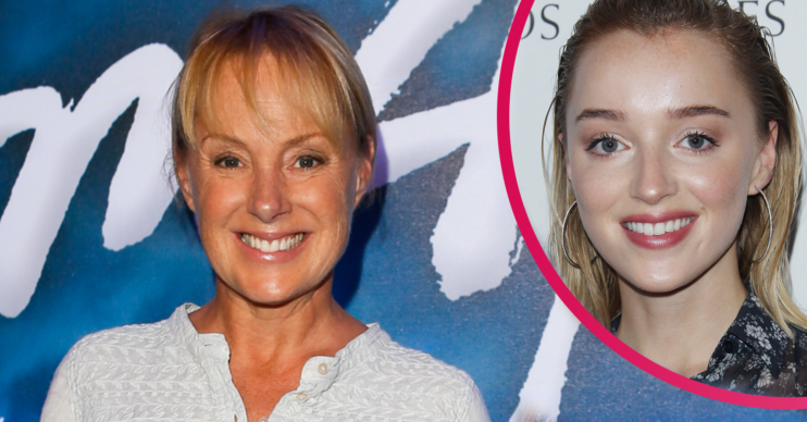Sally Dynevor sent a sweet birthday message to her daughter Phoebe