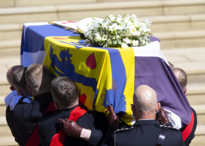 The Prince was laid to rest today