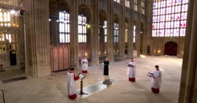 prince philip funeral choir