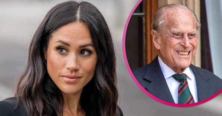 mEGHAN mARKLE AND PRINCE PHILIP