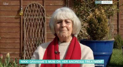 Nikki Grahame's mum Sue on This Morning