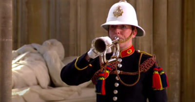funeral bugle prince philip
