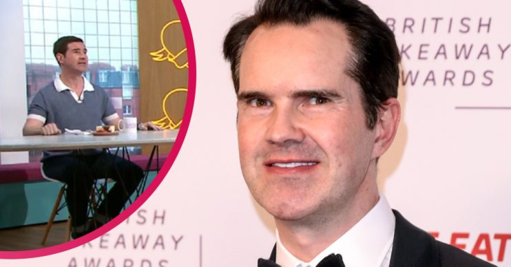 Jimmy Carr, Sunday Brunch today