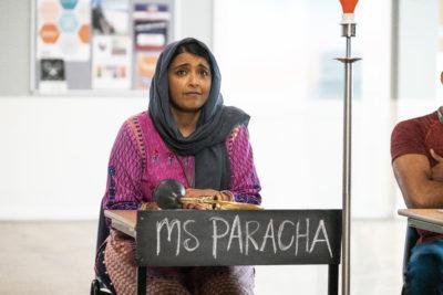 Sunetra Sarker plays Kaneez in Ackley Bridge (Credit: Channel 4 / Stuart Wood)