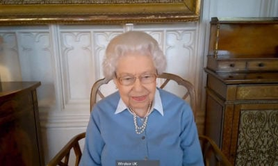 Queen Elizabeth II paid a virtual visit to KPMG in December to mark the firm's 150th anniversary (Credit: ALPR/AdMedia)