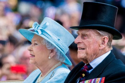 The Queen faces her first birthday without her husband (Credit: Splash)