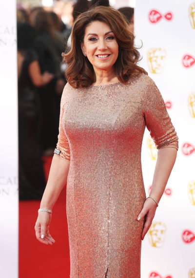Jane McDonald on the red carpet