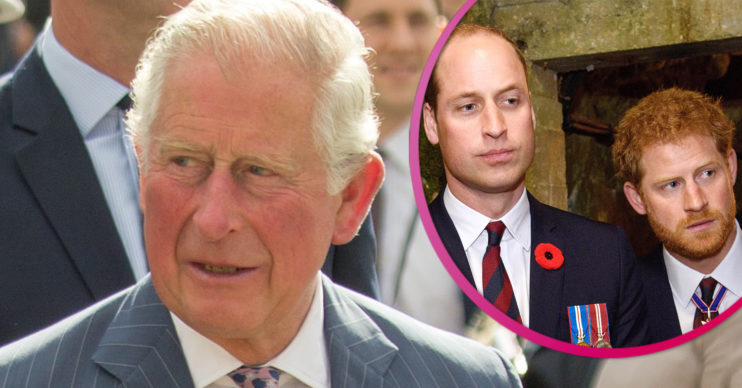 Prince Charles grieving in wales