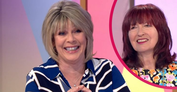 Ruth Langsford and Janet Street-Porter on Loose Women