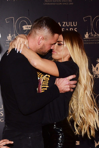 Katie Price and Carl Woods have been dating for 10 months