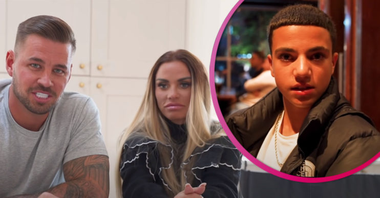 Carl Woods and Katie Price engaged